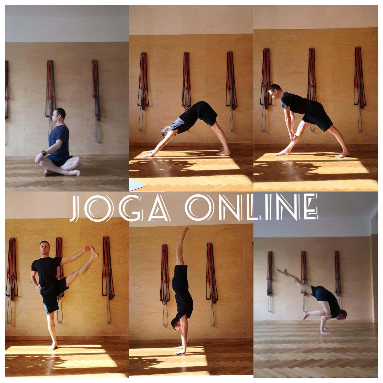 Joga online